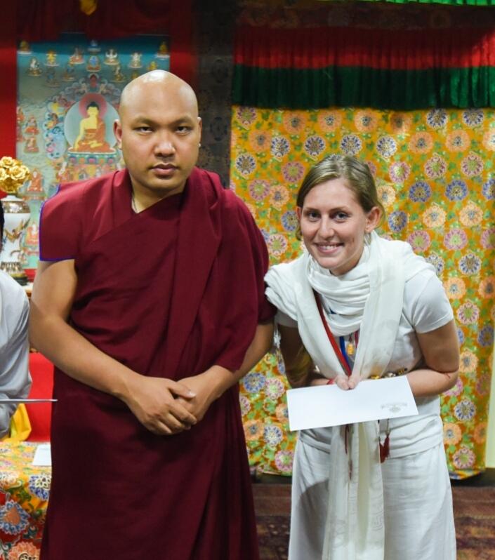 Image 3 Sherab Lhamo with Karmapa