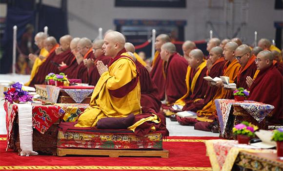 Image 4 Karmapa praying