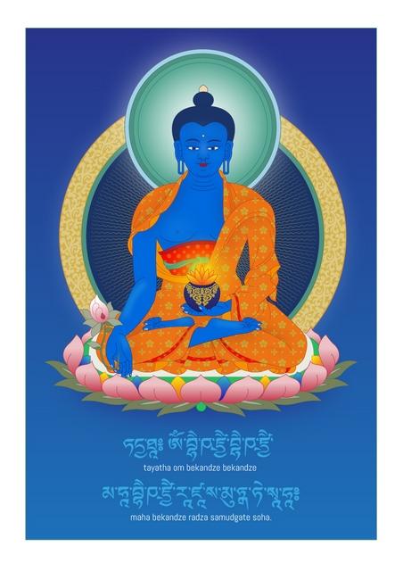 Buddha medicíny Autor: Matěj Bošina