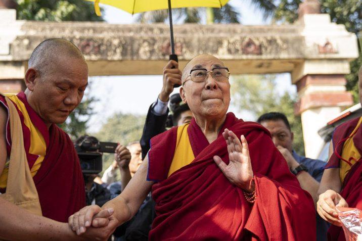 Jeho Svatost dalajláma v Bodhgaji. dalailama.com